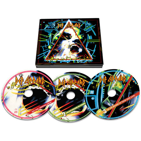 Def Leppard: Hysteria 30th Anniversary Edition (3CD Deluxe)