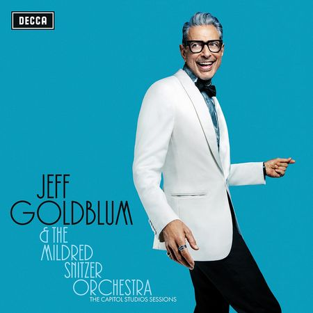 Jeff Goldblum The Capitol Studios Sessions - UK Exclusive Signed CD