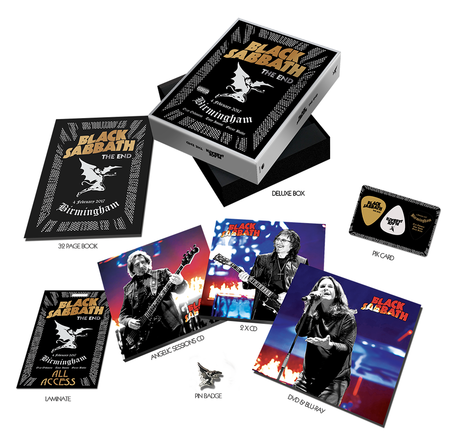 Black Sabbath: The End (Collector's Edition) (Blu-Ray + DVD + 2CD in Collectors' Box)