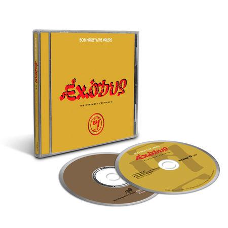 Bob Marley and The Wailers: Exodus 40 (2 CD)