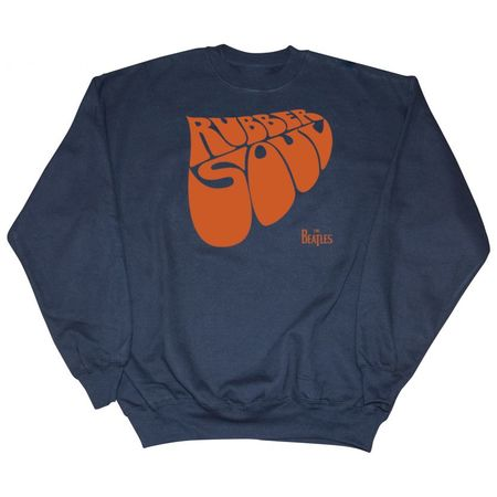 The Beatles: Rubber Soul Sweatshirt Navy