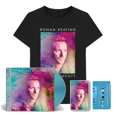 Ronan Keating: SIGNED Twenty Twenty ultimate fan bundle