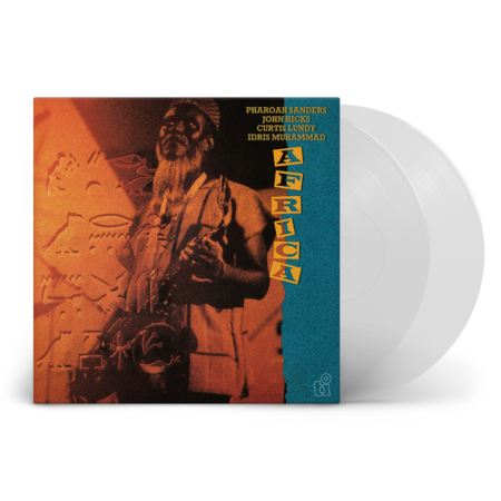 Pharoah Sanders: Africa: Limited Edition Transparent Vinyl 2LP