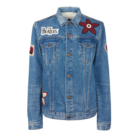 The Beatles: Lonely Hearts Club Denim Jacket