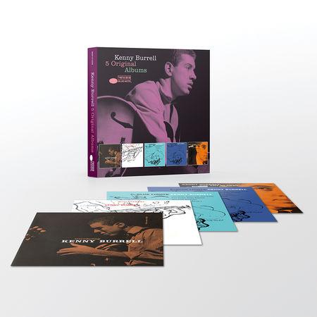 Kenny Burrell: 5 Original Albums
