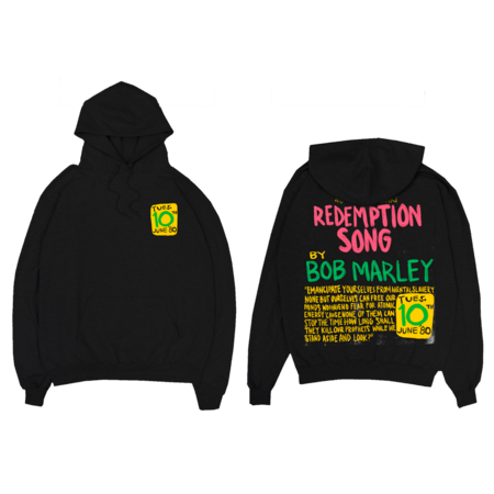 Bob Marley: Redemption Song Pullover Hoodie