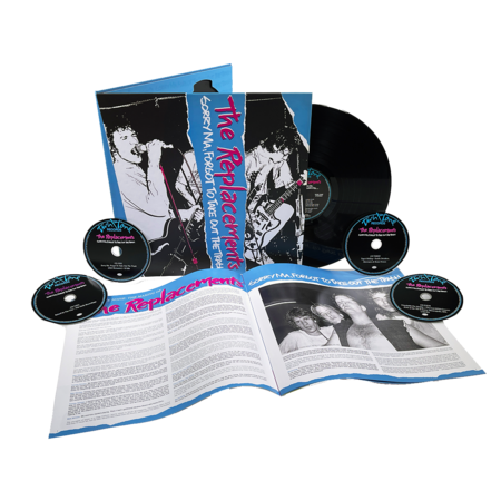 The Replacements: Sorry Ma, Forgot To take Out The Trash: Deluxe Edition 4CD + 1LP Boxset