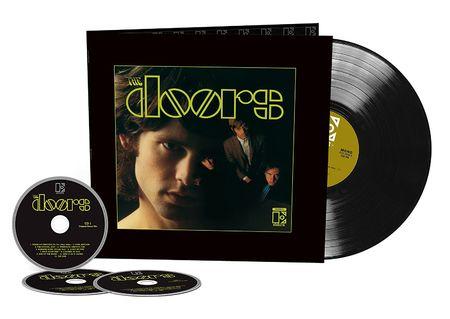 The Doors: The Doors - 50th Anniversary Deluxe (3CD+LP)