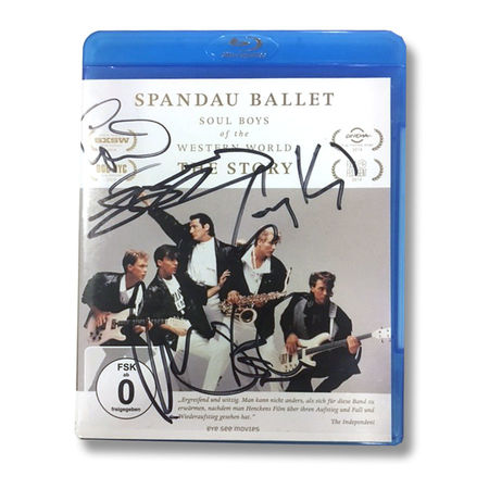 Spandau Ballet: SPANDAU BALLET THE FILM: SOUL BOYS OF THE WESTERN WORLD (GERMAN SIGNED EDITION Blu-ray)