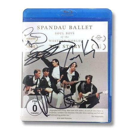 Spandau Ballet: SPANDAU BALLET THE FILM: SOUL BOYS OF THE WESTERN WORLD (GERMAN SIGNED EDITION Blu-ray)
