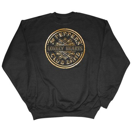 The Beatles: Sgt Pepper Gold Anniversary Sweatshirt Black