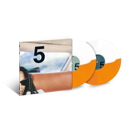 Lenny Kravitz: 5: Exclusive Split Orange + White Edition