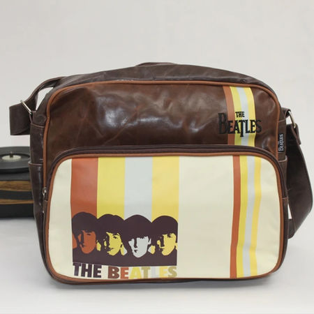 The Beatles: The Beatles Stripes Flight Bag