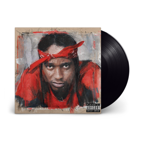 Chase Fetti X 38 Spesh : Top Of The Red: Black Vinyl LP