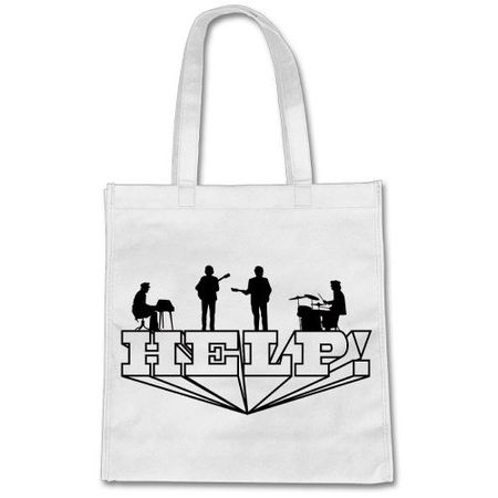 The Beatles: Help Tote Bag