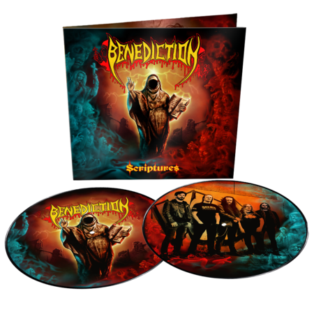 Benediction: Scriptures: Limited Edition Picture Disc Vinyl 2LP + Signed Card