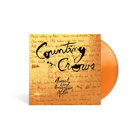 Counting Crows: August And Everything After: Exclusive Translucent Orange Double Vinyl