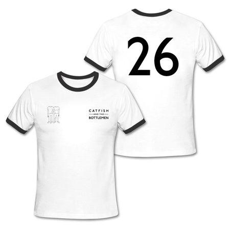 Catfish And The Bottlemen: Away Football Shirt