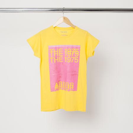 The 1975: WOMENS YELLOW T-SHIRT