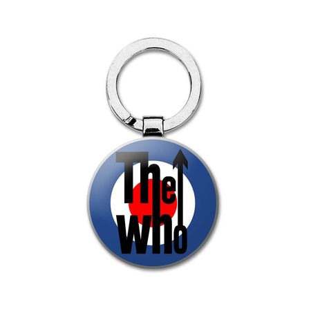 The Who: Classic Logo Metal Keyring