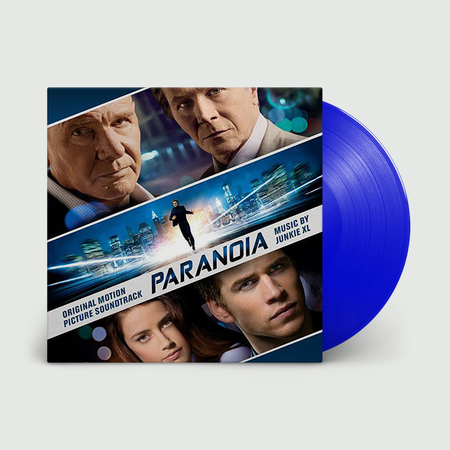 Original Soundtrack: Paranoia - Junkie XL (OST): Limited Edition Translucent Blue Vinyl