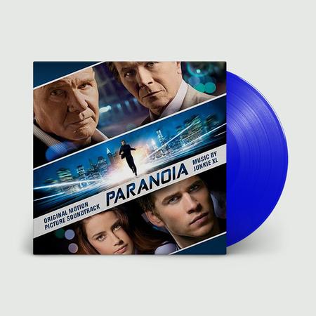 Original Soundtrack: Paranoia - Junkie XL (OST): Limited Edition Translucent Blue Vinyl