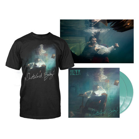 hozier: WASTELAND, BABY! EXCLUSIVE COLOURED LP, TEE & POSTER