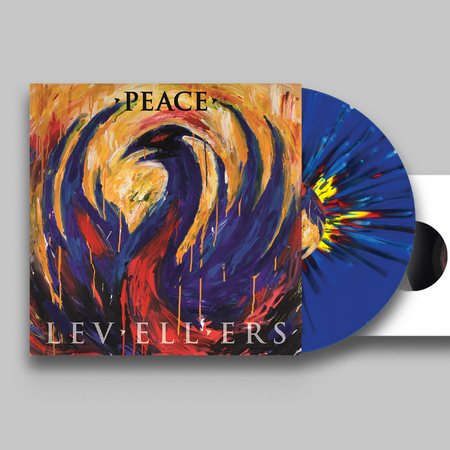 Levellers: Peace: Limited Edition Splatter Vinyl + Bonus Live 7