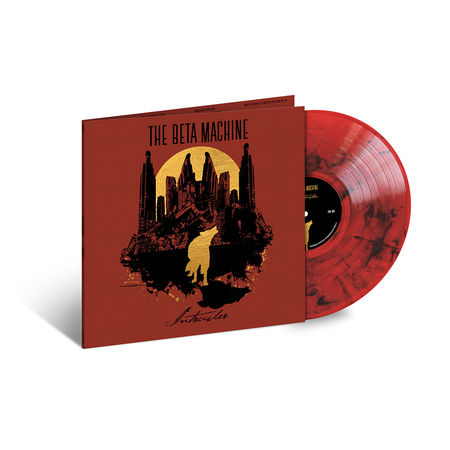 The Beta Machine: Intruder: Red & Black Swirl Vinyl