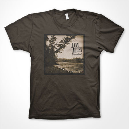 Jann Arden: Everything Almost Brown 'Landscape Photo' Tee - Small