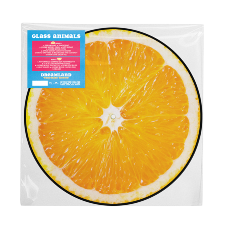 Glass Animals: Dreamland - Tangerine Picture Disc