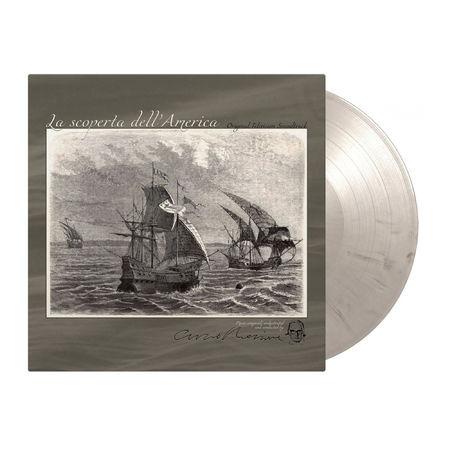 Ennio Morricone: Alla Scoperta Dell`America: Limited Edition Ash Gray Marbled Vinyl