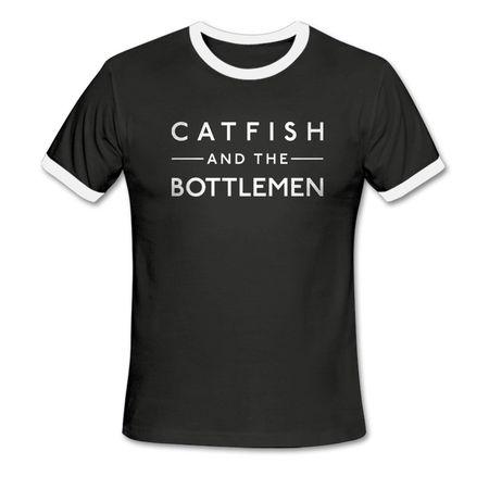 Catfish And The Bottlemen: Logo Ringer T-Shirt