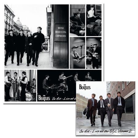 The Beatles: 'Live at the BBC Volume 2' CD & Limited Edition Lithographic Print