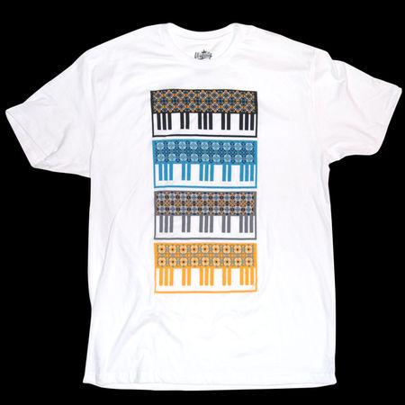 Ubiquity Records: Keyboard Pattern T-Shirt
