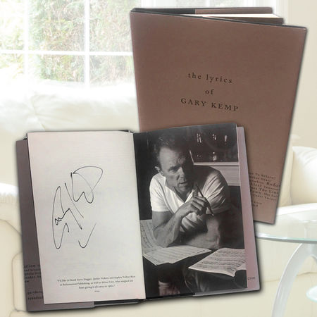 Gary Kemp: The Lyrics Of Gary Kemp (Exclusive Hand Signed Edition)