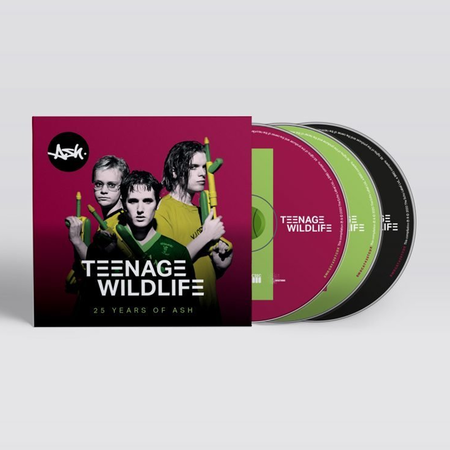 Ash: Teenage Wildlife [25 Years of ASH]: Signed Limited Edition Lenticular Triple CD