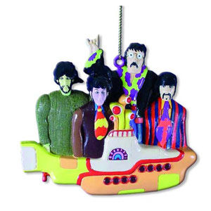 The Beatles: Yellow Submarine With Group Ornament