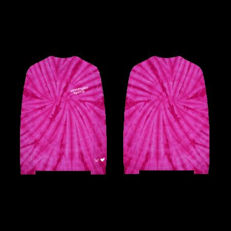 Yungblud: HFTUY Pink Tie Dye Longsleeve