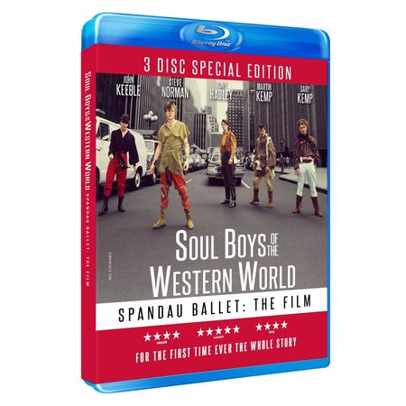 Spandau Ballet: SOUL BOYS OF THE WESTERN WORLD LIMITED EDITION 3-DISC BOXSET (Blu-ray)