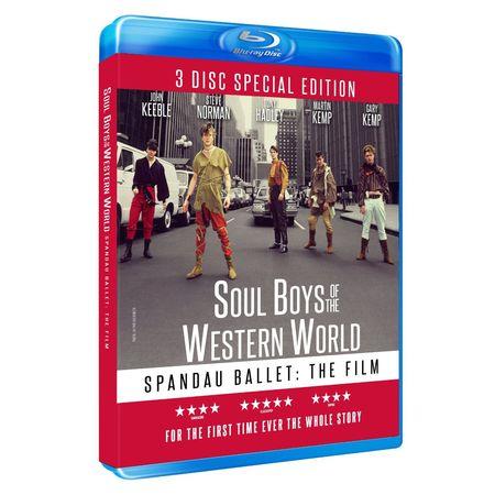 Spandau Ballet: SOUL BOYS OF THE WESTERN WORLD LIMITED EDITION 3-DISC BOXSET (Blu-ray)