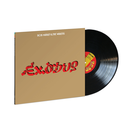 Bob Marley and The Wailers: Exodus (Jamaican Pressing LP)