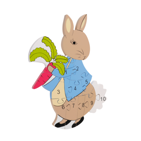 Peter Rabbit: Peter Rabbit Number Puzzle