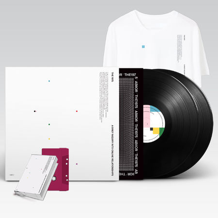 The 1975: A Brief Inquiry Into Online Relationships Exclusive Purple Cassette + Vinyl + Tee Bundle