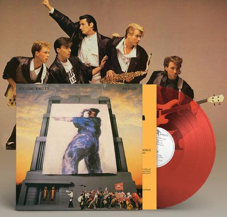 Spandau Ballet: Parade 35th-anniversary remastered (Coral coloured vinyl)