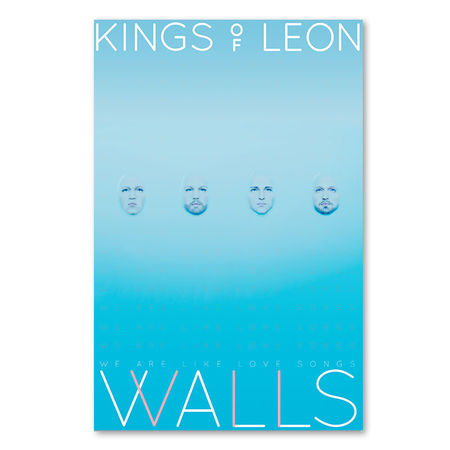 Kings Of Leon: Walls Collectible Poster