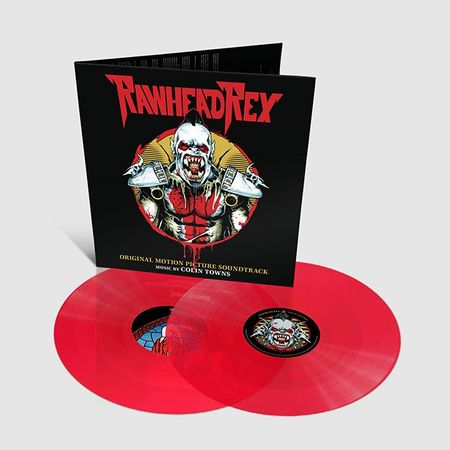 Colin Townes: Rawhead Rex Original Soundtrack: Limited Edition Stained Glass Red Vinyl