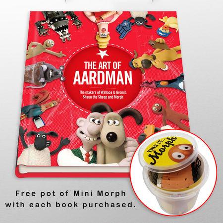 Aardman: The Art of Aardman + Mini Morph Kit