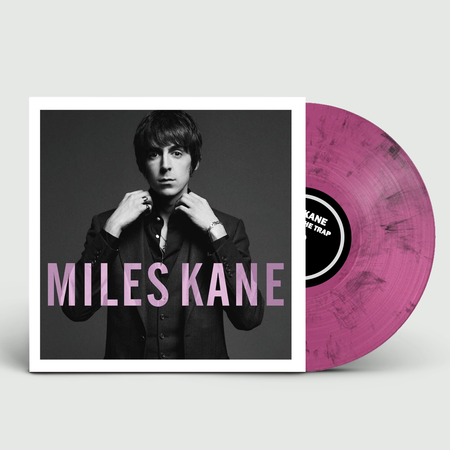 Miles Kane: Colour Of The Trap: Limited Edition Pink + Black Marbled Vinyl