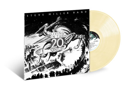 Steve Miller Band: Living In The 20th Century (LP Opaque Beige Bone)